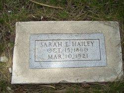 Sarah Elizabeth Lizzie <i>Taylor</i> Hailey