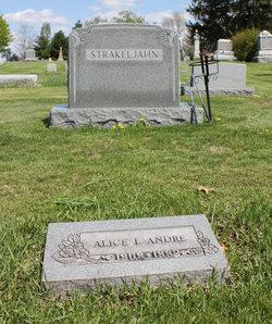 Alice Louise <i>Strakeljahn</i> Andre
