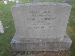 Sophronia <i>Minkler</i> Adams