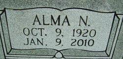 Alma N Benfield