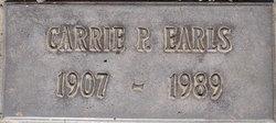 Carrie P. Earls