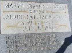 Mary Florence <i>Yates</i> Adams
