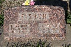 Mary Ann <i>Egan</i> Fisher