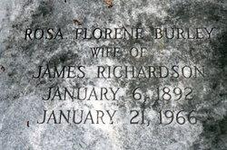 Rosa Florence <i>Burley</i> Richardson