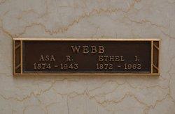 Ethel Isabelle <i>Brite</i> Webb