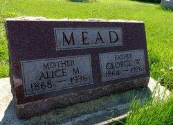 Alice Melissa <i>Walker</i> Mead