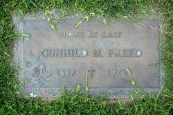 Gunhild Marie Hilda <i>Peterson</i> Freed