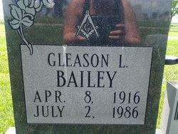 Gleason L Bailey