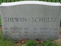Sara G. <i>Shewan</i> Schultz