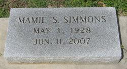 Mamie S Simmons