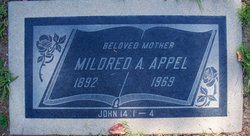 Mildred A Appel