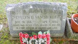 Evelyn D Van Sickle