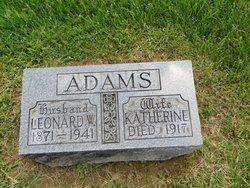 Leonard W Adams