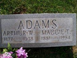 Margaret Tabitha Maggie <i>Knowlton</i> Adams