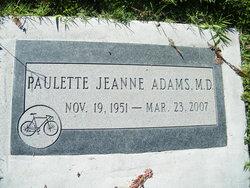 Dr Paulette Jeanne Adams