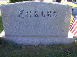 Anne Amelia <i>Sturgis</i> Ackles