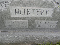 Madeline Mildred <i>Harmon</i> McIntyre