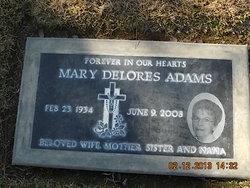 Mary Delores <i>Peters</i> Adams