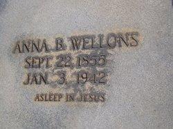 Anna B Wellons