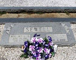 Rev Jesse Ervin Sewell
