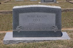 Ruby <i>Bacon</i> Cole