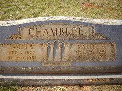 James Wesley Jim Chamblee, Sr