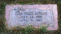 Edna <i>Posey</i> Alpigini