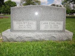 Carrie Ethel <i>Scott</i> Hall
