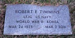 Robert E Timmins
