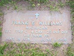 Sgt Frank Edward Williams