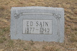 James Edward Ed Sain, Sr