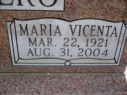 Maria Bessie <i>Vincenta</i> Romero