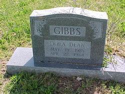 Dora Dean <i>Bedwell</i> Gibbs