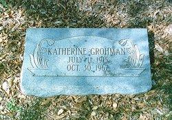 Katherine <i>Robertson</i> Grohman