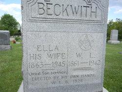 Lenora Ellen Ella <i>Sayre</i> Beckwith