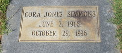 Cora <i>Jones</i> Simmons