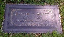 Hallie <i>Bell</i> White