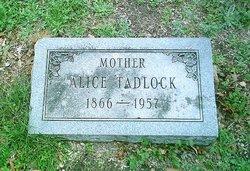 Alice <i>Crawford</i> Tadlock