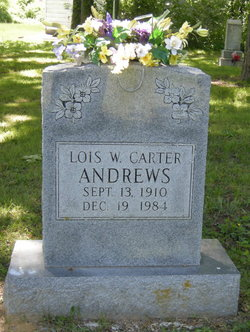 Lois W. <i>Carter</i> Andrews