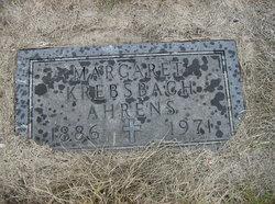 Margaret <i>Krebsbach</i> Ahrens