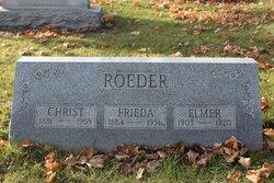 Frieda <i>Grabow</i> Roeder