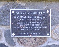 Drake Community Cemetery.