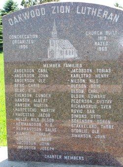 Oakwood Zion Cemetery