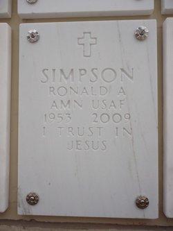 Ronald Allen Ronnie Simpson