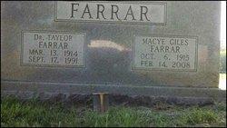 Macye Lavinia <i>Giles</i> Farrar