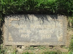 Mary <i>Listermann</i> Mahlerwein