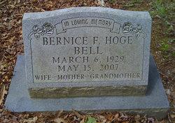 Bernice Fountain <i>Hoge</i> Bell