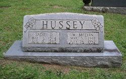Sadie Irene <i>Dennis</i> Hussey