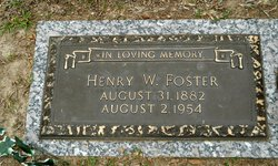 Henry May Whitfield Foster