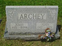 Joan <i>Kennedy</i> Archey